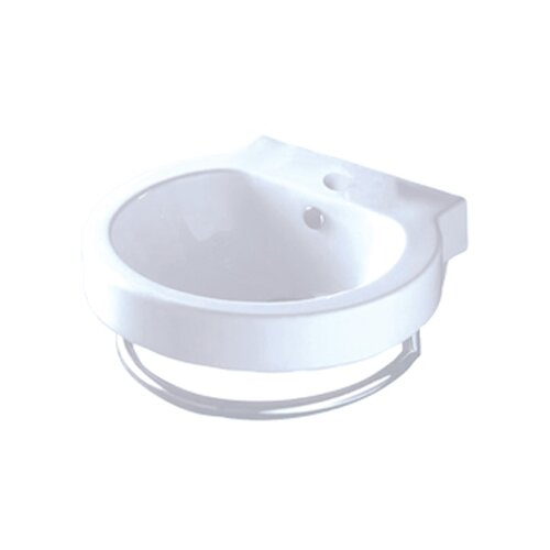 Country China Vessel Bathroom Sink