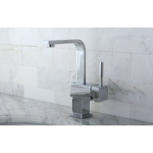Concord Single Handle Mono Deck Bathroom Faucet with Push-Up Drain