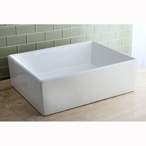 Elements China Vessel Bathroom Sink