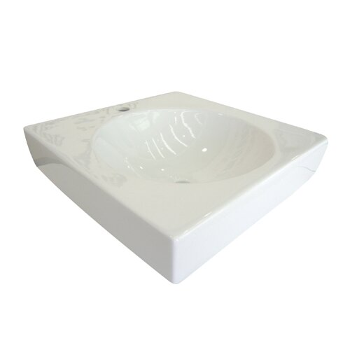 Beverly China Vessel Bathroom Sink