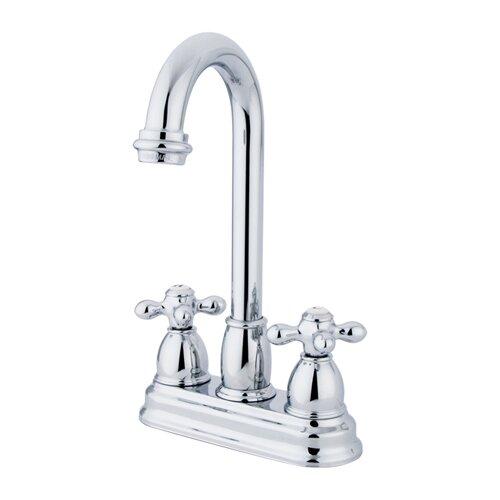 Restoration Double Handle Centerset Bar Faucet