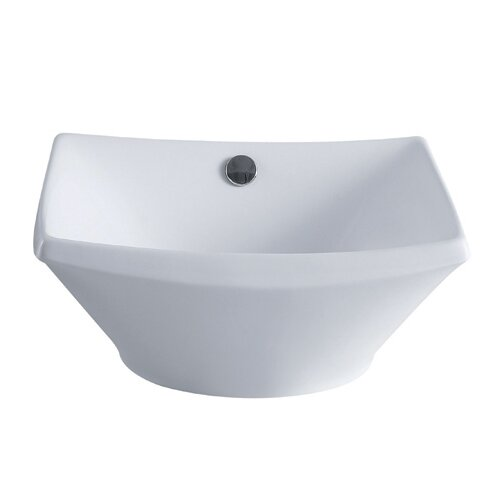 Courtyard China Vessel Bathroom Sink