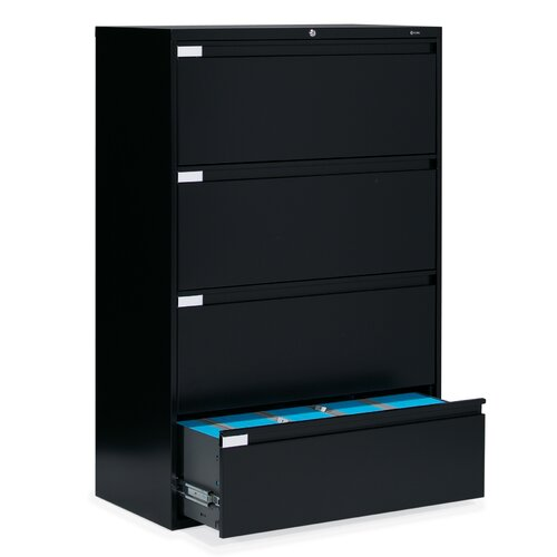 Global Total Office 9300 Series 4-Drawer  File