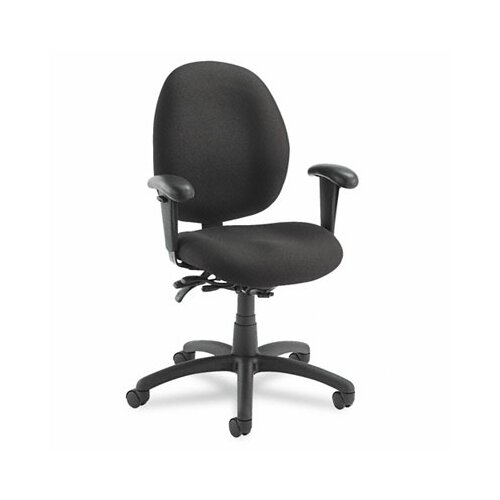 Global Total Office Malaga Low-Back Pneumatic Multi Office Chair with Arms