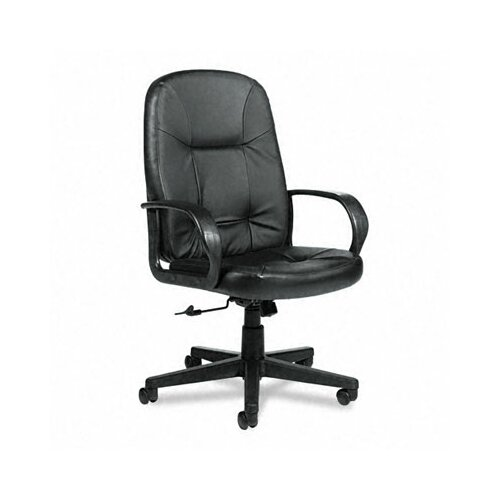 Global Total Office Arno Executive Leather High-Back Swivel / Tilt Chair