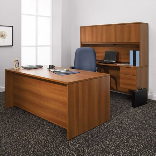 Global Total Office Adaptabilities Single Pedestal Credenza