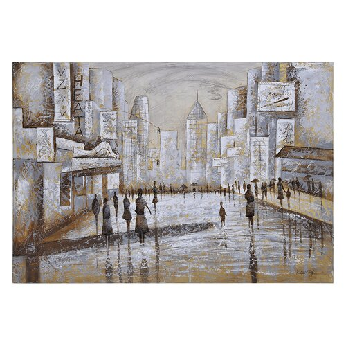 Promenade by Olivia Salazar Graphic Art on Canvas