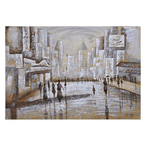 Promenade by Olivia Salazar Graphic Art on Canvas