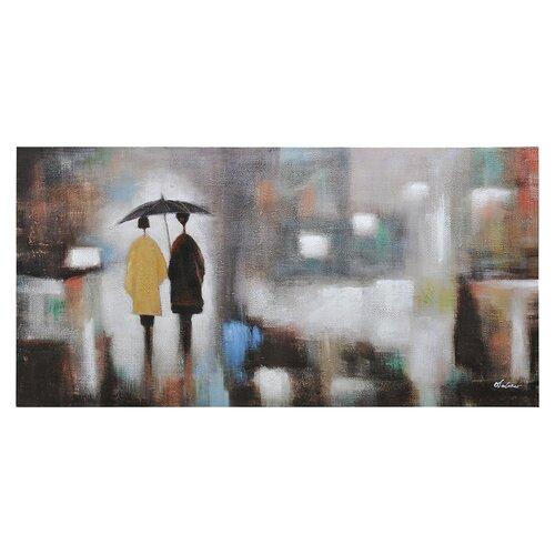Rainy Day by Olivia Salazar Painting Print on Canvas