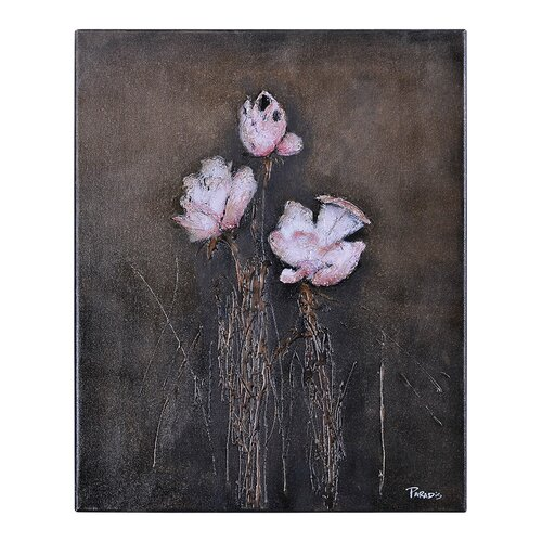 Organic Floral I by Pierrick Paradis Painting Print on Canvas