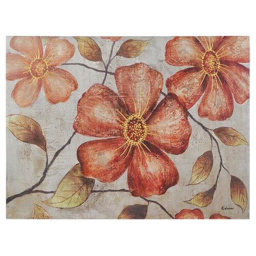 Vintage Florals by Olivia Salazar Painting Print on Canvas