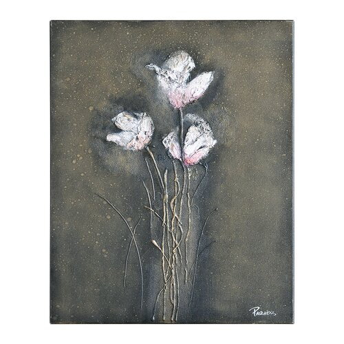Organic Floral II by Pierrick Paradis Painting Print on Canvas