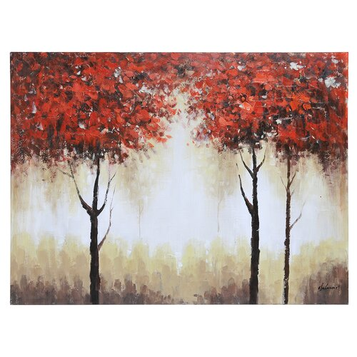 Autumn Mist by Olivia Salazar Painting Print on Canvas