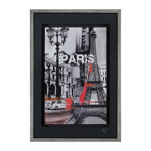 Urban Metropolis II by Giovanni Russo Framed Painting Print