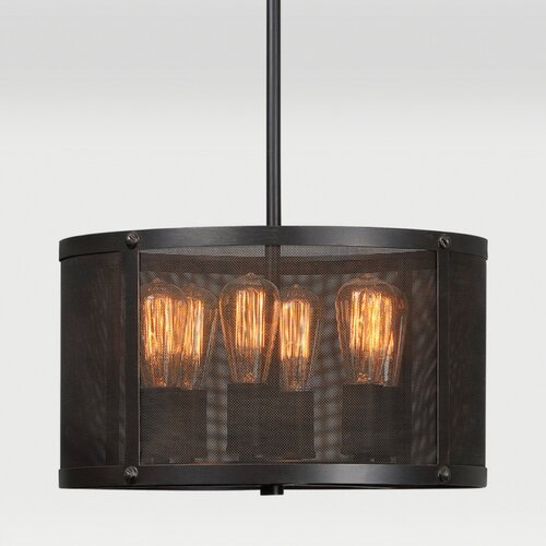 Livingstone 6 Light Drum Pendant