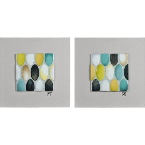 2 Piece Pear Tickle Wall Décor Set