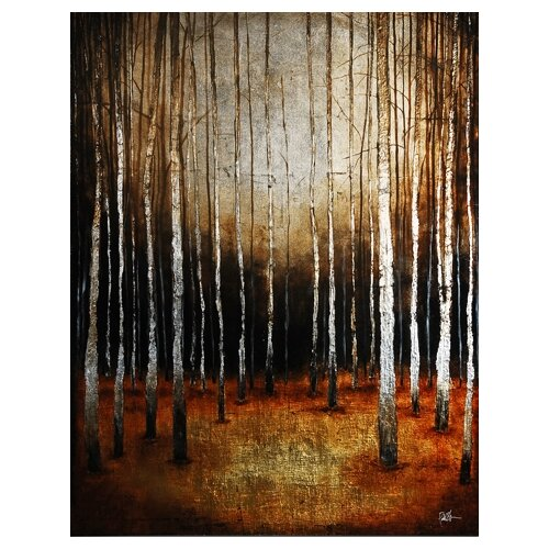 Ren-Wil In the Shadows by St. Germain Original Painting on Canvas