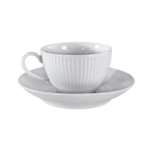 Pillivuyt Plisse 10 oz. Breakfast Cup