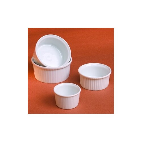 Pillivuyt Classic 5 oz. Pleated Ramekin