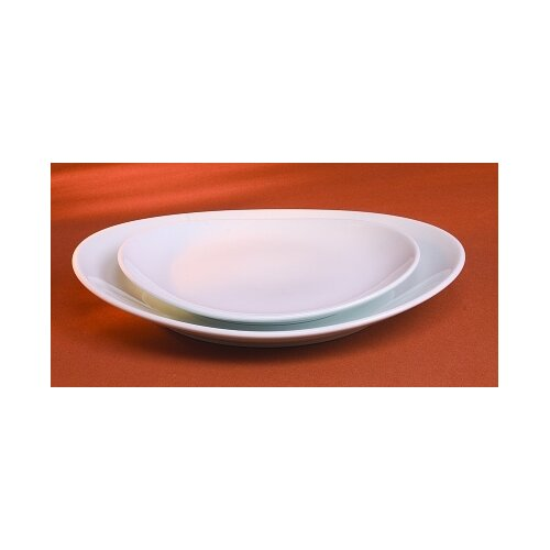 "Pillivuyt 10"" Large Oval Plate"