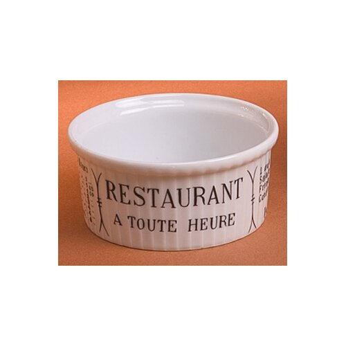 Pillivuyt Brasserie 5 oz. Pleated Ramekin