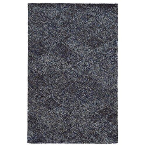 Colorscape Blue / Grey Geometric Rug