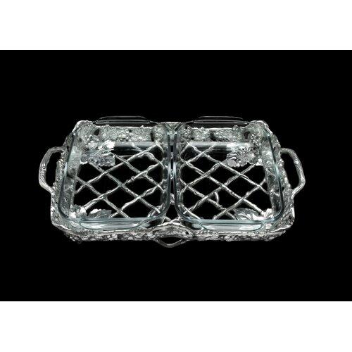 Antler 2-qt. Aluminum Rectangular Casserole