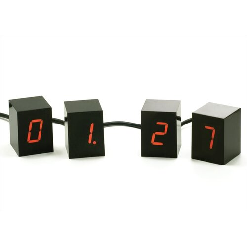 Areaware Numbers LED Alarm Clock