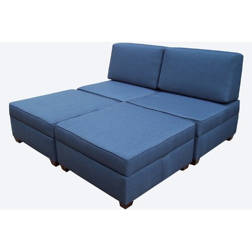 Multifunctional King Sleeper Ottoman
