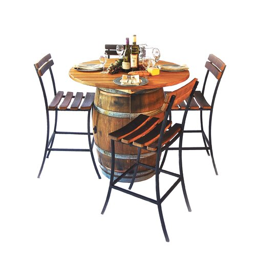 Round Top Table Set