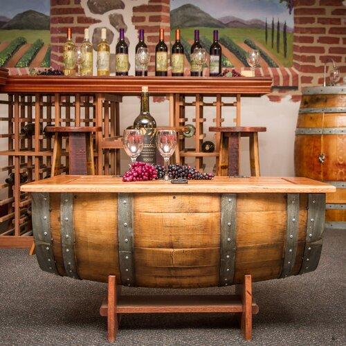 Wine Barrel Coffee Table