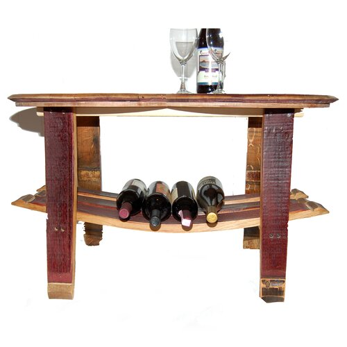 Barrel Head Coffee Table