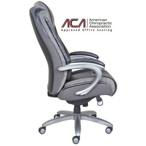Blissfully High Back Executive Office Chair Wayfair