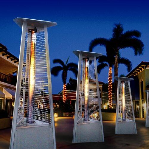 Tower Of Fire Propane Patio Heater Patio U0026 Garden