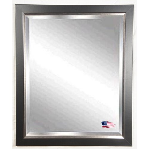 Jovie Jane Black with Silver Lining Wall Mirror