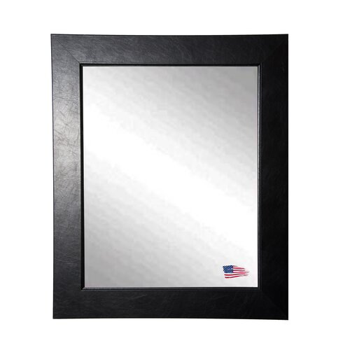 Ava Executive Black Wall Mirror