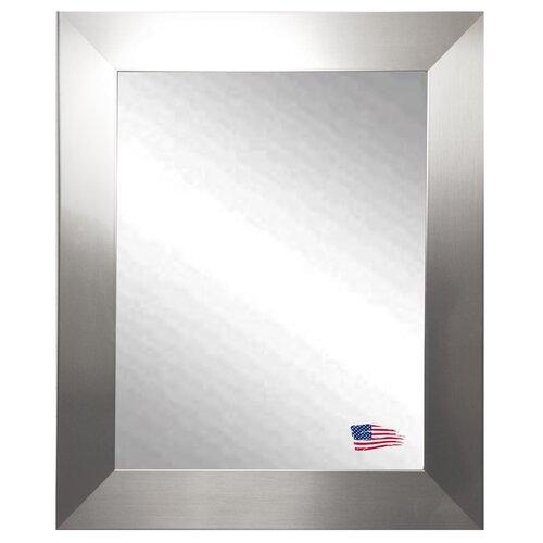 Ava Modern Stainless Wall Mirror