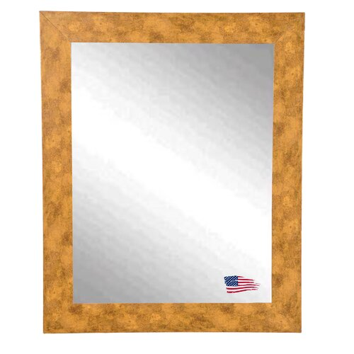 Ava Mosaic Gold Wall Mirror