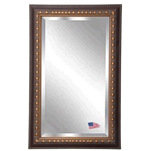 Bronze bathroom mirror wayfair for Bronze framed bathroom mirror
