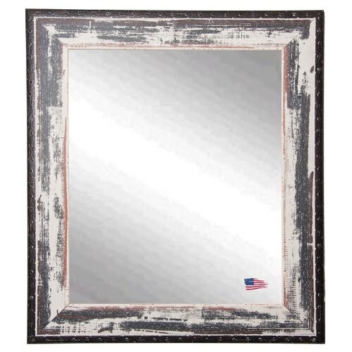 Ava Rivet Trim Wall Mirror
