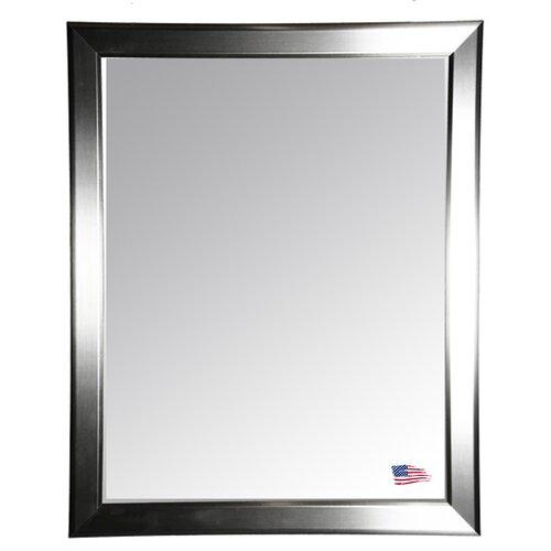 Sleek Silver Wall Mirror