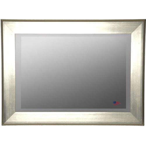 Jovie Jane Brushed Silver Wall Mirror