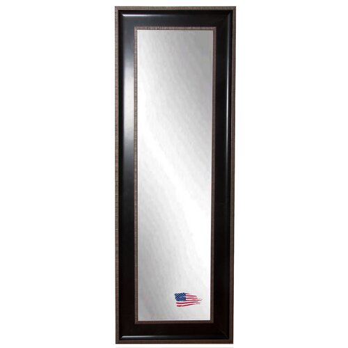 Howard elliott contemporary detroit full length wall for Black full length wall mirror