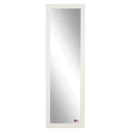 White wood mirror wayfair for White full length mirror