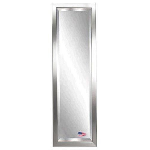 Rayne Mirrors Jovie Jane Round Edge Minimal Silver Full Length Beveled Body Mirror u0026 Reviews ...