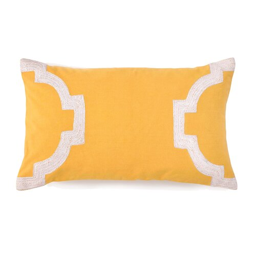 Hampton Links Idon Embroidered Dyed Decorative Pillow