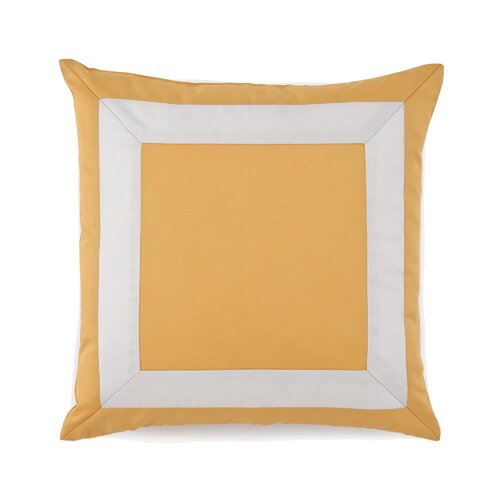 Plimpton Flame Mitered Frame Decorative Pillow