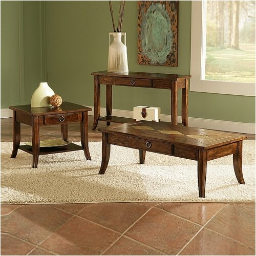 Shenadoah 3 Piece Coffee Table Set