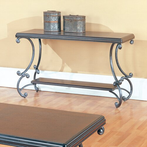 Ashton Brown Cherry Console Table