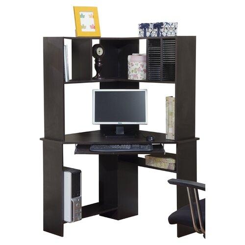TMS Morgan Corner Desk and Hutch